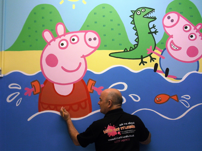 Peppa Pig George Kids Art Murals