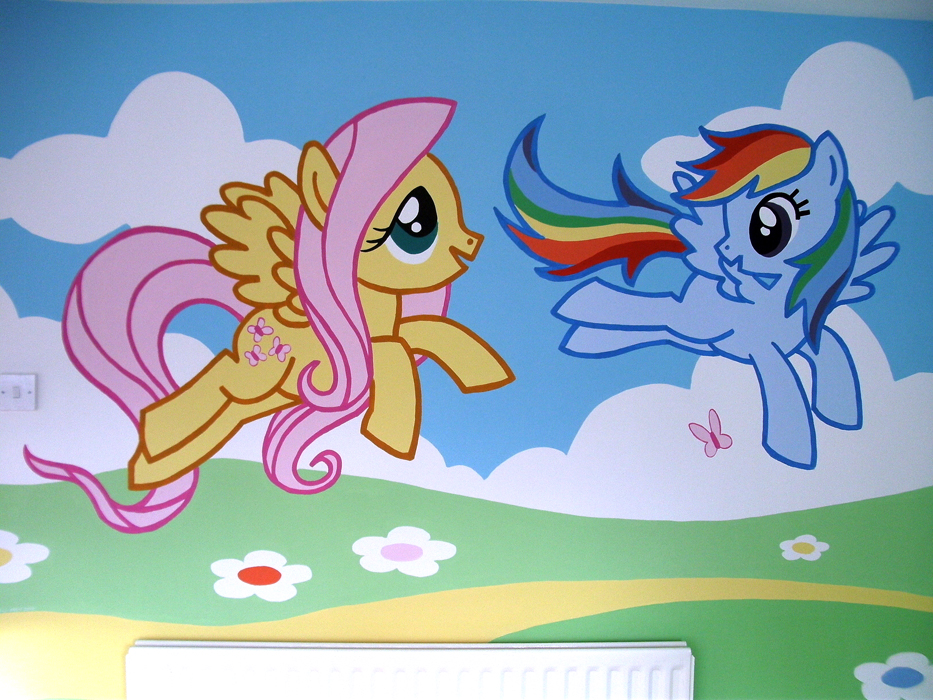 My Little Pony Mural Kids Art Murals