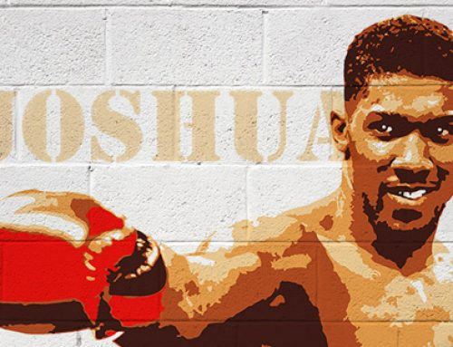 Boxer 'Anthony Joshua' Mural