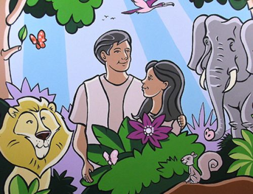 Creation Story Mural