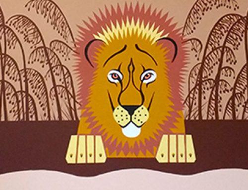 Safari Mural