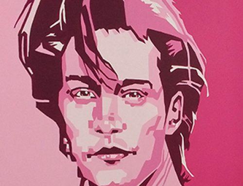 Jon Bon Jovi Mural Portrait