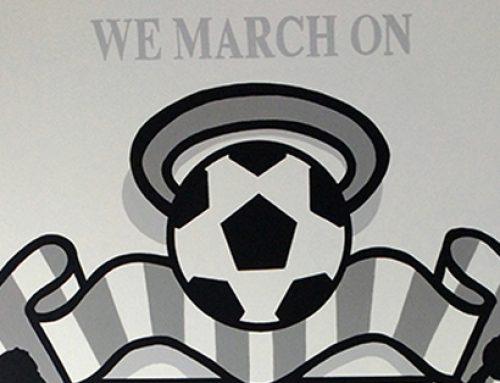 Southampton FC Emblem Mural