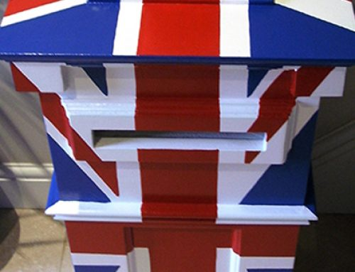 Union Jack – Post Box Mural