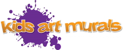 Kids Art Murals Logo